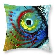 Tropical Fish - Art By Sharon Cummings Throw Pillow