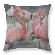 Tropical Ice Throw Pillow