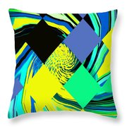 Tropical Impressions Throw Pillow