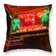Tropical Isle Nola Style Throw Pillow