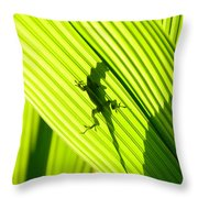Tropical Living Throw Pillow