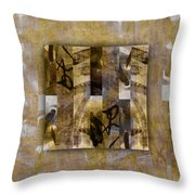 Tropical Panel Number One Throw Pillow
