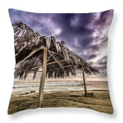 Tropical Solace Throw Pillow