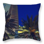 Tropical Spot Throw Pillow