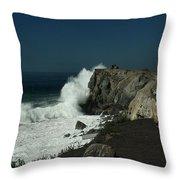 Tropical Storm Marie 3 Throw Pillow