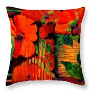 Tropical Tapestry Throw Pillow