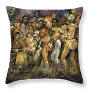 Tropicana Havana Throw Pillow by Tomas Castano