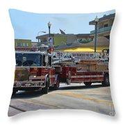 Truck 2 Sffd Throw Pillow