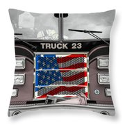Truck 23 Throw Pillow