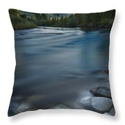Truckee River Throw Pillow