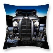 Millers Chop Shop 1964 Truckster Frontend Throw Pillow