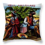 True Americans Throw Pillow