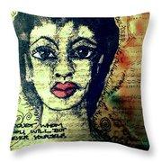 True Beauty Is Soul-deep Throw Pillow