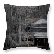 True Blood Stilt House Throw Pillow