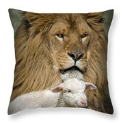 True Companions Throw Pillow