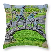 True Innocence Throw Pillow