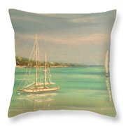 True Love Throw Pillow by The Beach  Dreamer