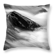 True's Brook Gorge Water Fall Throw Pillow