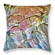 Trumpet Abstract Throw Pillow