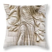 Trumpeting Angel Throw Pillow