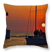 Trust The Gortons Fisherman Throw Pillow