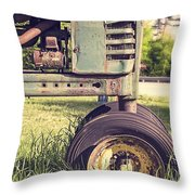 Trusty Old Workhorse Throw Pillow