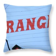 Truth In Advertising  Throw Pillow