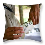 Try Some Throw Pillow