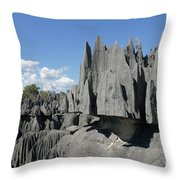 Tsingy De Bemaraha Madagascar 2 Throw Pillow