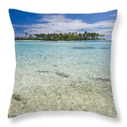 Tuamatu Islands Throw Pillow