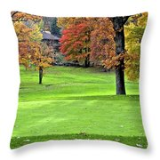 Tucked Pin Throw Pillow