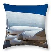Tucson Super Guppy 11 Throw Pillow