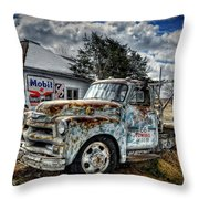 Tucumcari Towing Throw Pillow