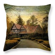 Tudor Road Throw Pillow