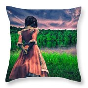 Tuesdays Child Throw Pillow