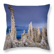 Tufa Garden Throw Pillow