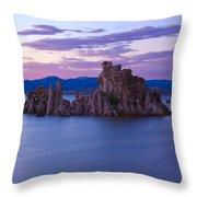 Tufa Islands Throw Pillow
