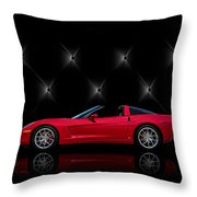Tuff Enough Throw Pillow