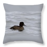 Tufted Duck Throw Pillow