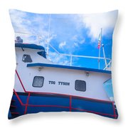 Tug Tyson Throw Pillow