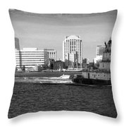 Tug With No Tow Throw Pillow
