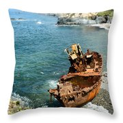 Tugboat Klemens I Throw Pillow