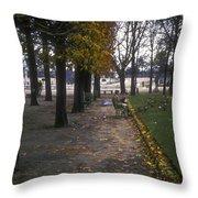 Tuileries Garden Throw Pillow