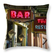 Tujague's Bar And Restaurant Throw Pillow