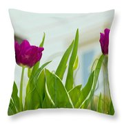 Tulip 4 Throw Pillow