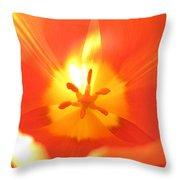 Tulip 5 Throw Pillow