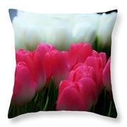 Tulip 7 Throw Pillow