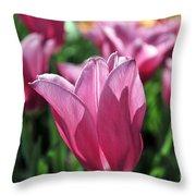 Tulip Angel Throw Pillow