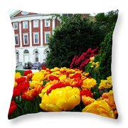 Tulip Love Throw Pillow