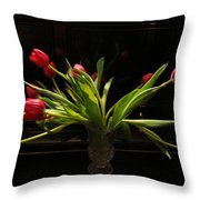 Tulip Mania 17 Throw Pillow
